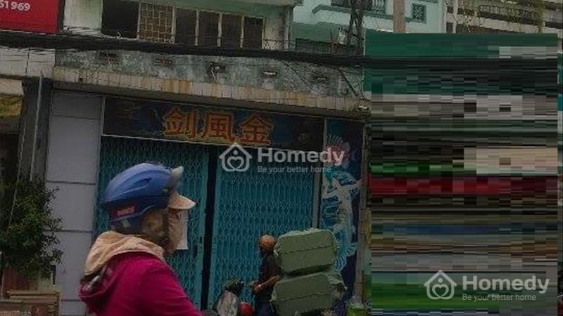 Cho thuê nhà mặt tiền ngang 5m Lạc Long Quân, p.10, Tân Bình - 1