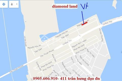 Bán đất đường Nguyễn Hữu An,Thuận Phước Đà Nẵng 7 lô,180m2/lô,khí hậu trong lành