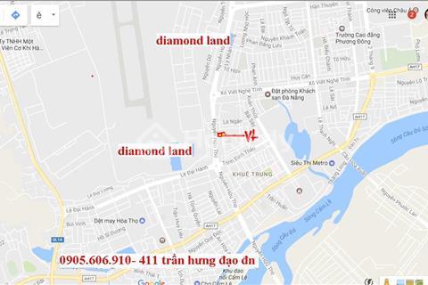 Bán 1000m2 đất đường Nguyễn Hữu Thọ,Đà Nẵng hướng Tây, xây cao tầng
