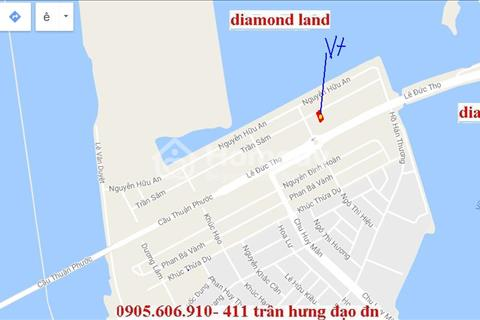 Bán 300m2 đất đường Trần Sâm Đà Nẵng,B7 lô 3 hội tụ đủ núi,sông,biển,gần CH 5 sao dát vàng