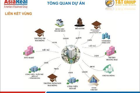 Sở hữu căn hộ đẳng cấp T&T Vĩnh Hưng view Sông Hồng, căn hộ bàn giao thô giá chỉ từ 19 triệu /m2