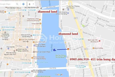 Bán 250m2 đất VÀNG đường Trần Hưng Đạo,Đà Nẵng đ/diện con tàu DHC,cầu Tình Yêu