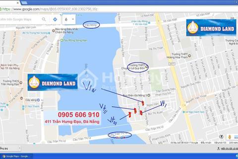 Cần bán đất dự án 5 sao bờ sông Hàn Euro Village Đà Nẵng đường Trần Hưng Đạo,Hoa Hồng 1,2,3