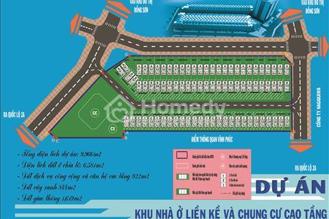 Suất ngoại giao MTO Complex giá cực sốc, vị trí đep nhất Phúc Yên, Vĩnh Phúc