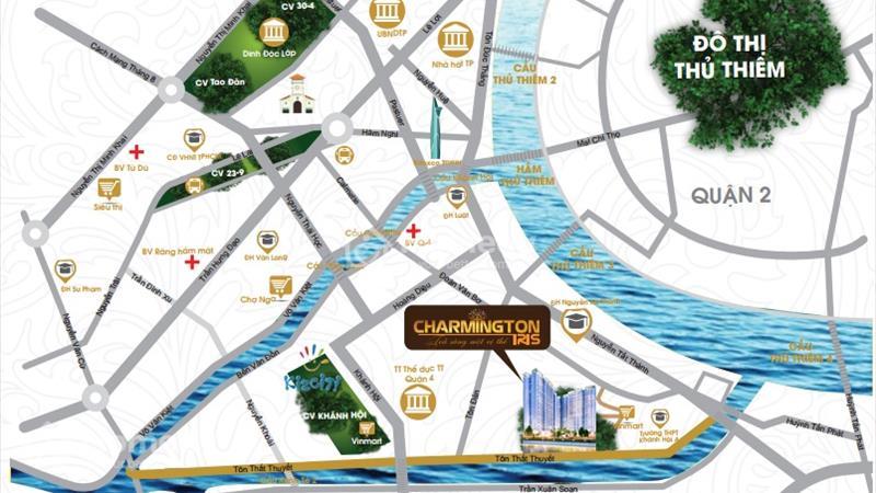 Charmington Irs trung tâm quận 4 - CĐT Sacomreal cam kết sinh lời 9 - 11% 1 năm - 9