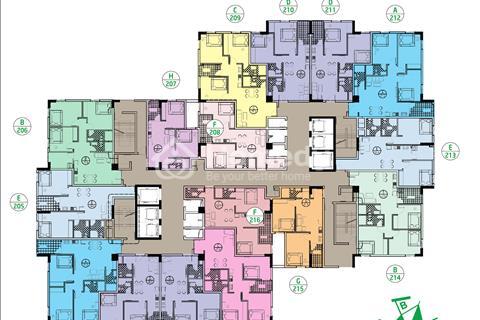 Căn hộ 61,5 m2 tại Ruby City Long Biên giá ưu đãi từ Chủ Đầu Tư, quà tặng tới 30 triệu