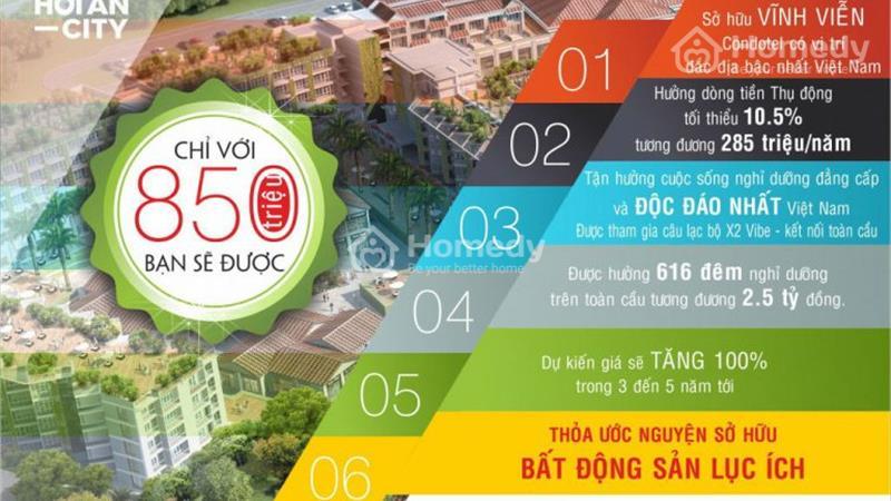 Trái tim du lịch Việt Nam - Sở hữu căn hộ cao cấp sổ đỏ Vĩnh Viễn tại khu nghỉ dưỡng cao cấp Hội An - 5