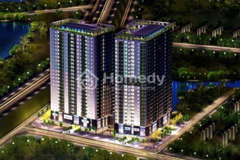 Cần bán căn hộ chung cư Hateco Hoàng Mai, diện tích 65.9 m2, giá 1.3 tỷ, view hồ CV Yên Sở