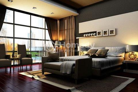 Bán penthouse Masteri 275 m2 4 phòng ngủ, view đẹp có sân vuờn