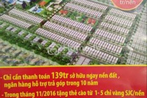 Bán đất KDC An Phát gần chợ An Bình giá chỉ 143 triệu/nền/100m2
