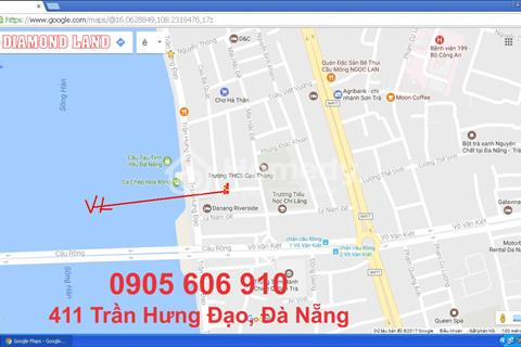 Bán rẻ trước tết nhà đường Cao Bá Quát, Đà Nẵng 3T mới, đất 87,5 m2 sát đường Trần Hưng Đạo
