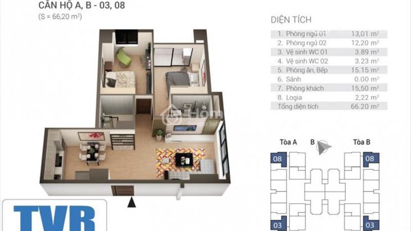 Mở bán Tứ Hiệp Plaza - tặng ngay 3 chỉ vàng khi mua căn 2 phòng ngủ. - 4