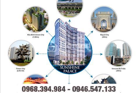 Sunshine Palace - Dự án căn hộ cao cấp liền kề Times City – 25 triệu/m2 – full nội thất cao cấp