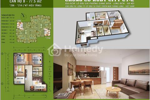 Cần bán gấp căn hộ 3206 - tầng 3, mã căn 6 chung cư Ruby City Long Biên với giá bán 1,58 tỷ