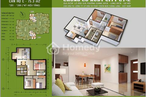 Bán căn hộ 320, mã căn 1 tại chung cư Ruby City Long Biên - nhận nhà ngay trong dịp tết
