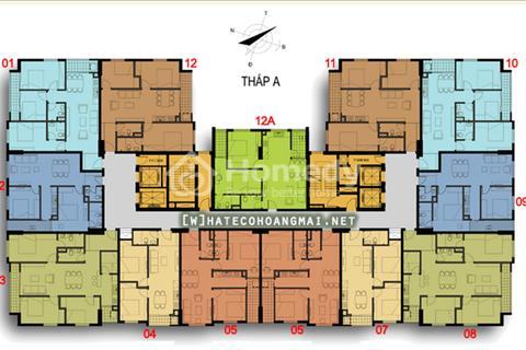 Cần bán gấp căn hộ A12A - 12 giá gốc chủ đầu tư , nhận nhà ăn tết ngay , khuyến mại lớn