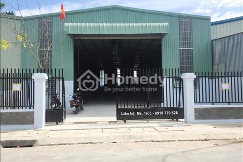 Cho thuê kho, nhà xưởng mới xây 500 m2 tại Thuận An, Bình Dương