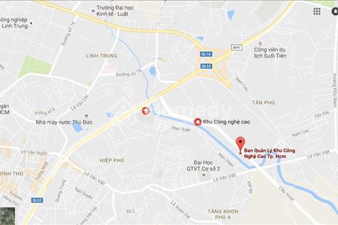 Văn phòng trong khu CNC - Quận 9. DT từ 200 - 300 - 500m2 giá từ 8đô/m2/tháng