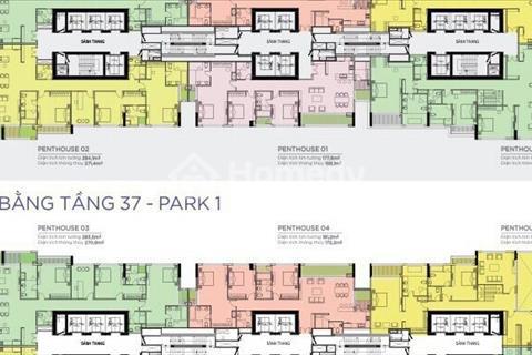 Căn hộ Penthouse tòa Park 1 tầng 37 view đẹp thiết kế hiện đại cao cấp