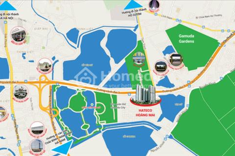 Chung cư Hateco Hoàng Mai giá chỉ từ 1,6 tỉ. Căn hộ 3 phòng ngủ, chiết khấu lên tới 100 triệu !