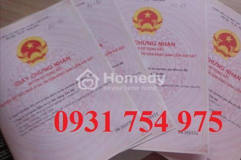 Bán đất Bình Chánh mặt tiền đường Nguyễn Hữu Trí giá rẻ sổ hồng riêng, giá 380 triệu