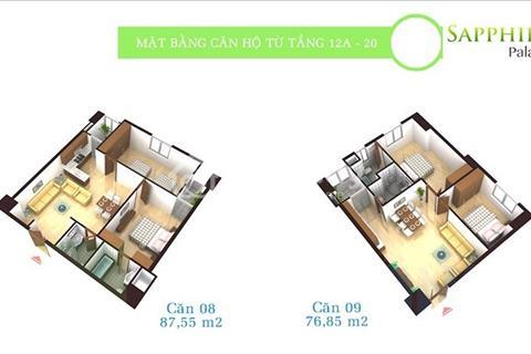 Bán gấp căn hộ 1808 dự án Sapphire Palace số 4 Chính Kinh