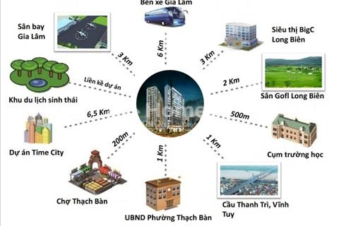Cơ hội sở hữu chung cu Norther Diamond mới ra mắt tại Long Biên với nhiều tiện ích