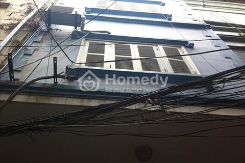 Bán nhà 6 tầng xây mới phố Hàng Bài, ngõ thoáng rộng. Giá 6,2 tỷ