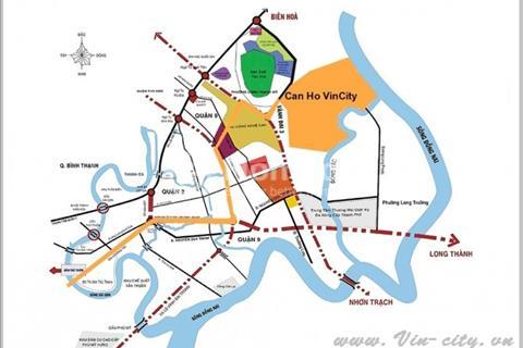 Vincity, quận 9 - Khu căn hộ xanh, ven sông phù hợp cho gia đinh trẻ