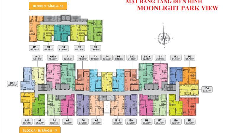 Chỉ 1,1tỷ/căn, căn hộ Moonlight Park View MT khu Tên Lửa, liền kề Aeon Mall - BX Miền Tây - 5