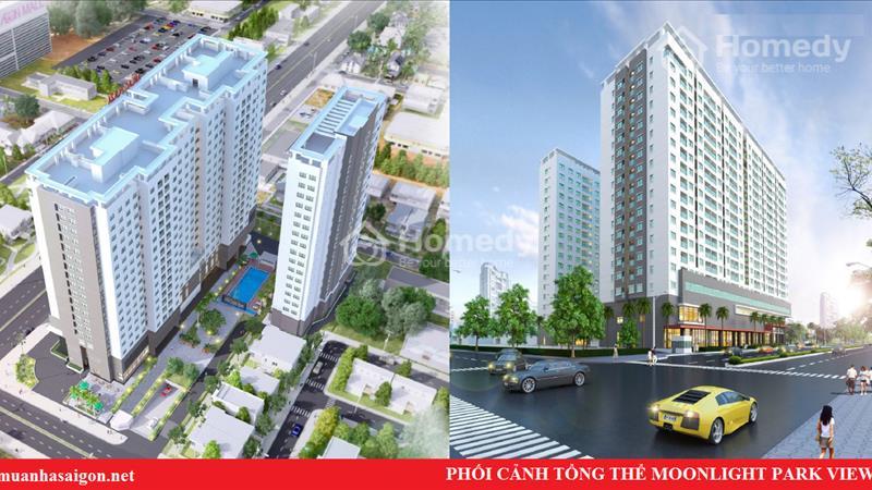 Chỉ 1,1tỷ/căn, căn hộ Moonlight Park View MT khu Tên Lửa, liền kề Aeon Mall - BX Miền Tây - 3