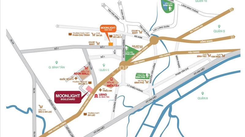 Căn hộ Moonlight Boulevard trung tâm Quận 6 - Bình Tân, Chính thức mở bán CK 3% - 18% - 5