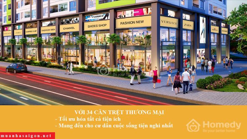 Chỉ 1,1tỷ/căn, căn hộ Moonlight Park View MT khu Tên Lửa, liền kề Aeon Mall - BX Miền Tây - 6