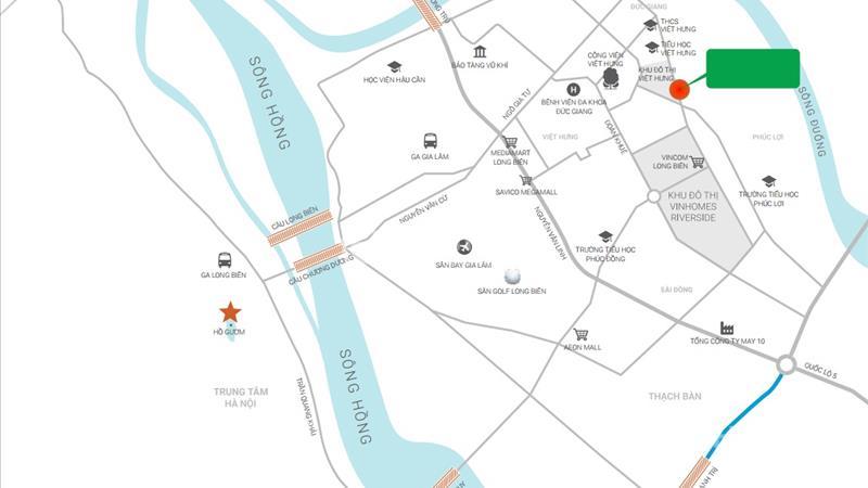 Ruby City Long Biên bàn giao ở ngay căn 3 ngủ diện tích 80 m2, giá 1,6 tỷ - 5