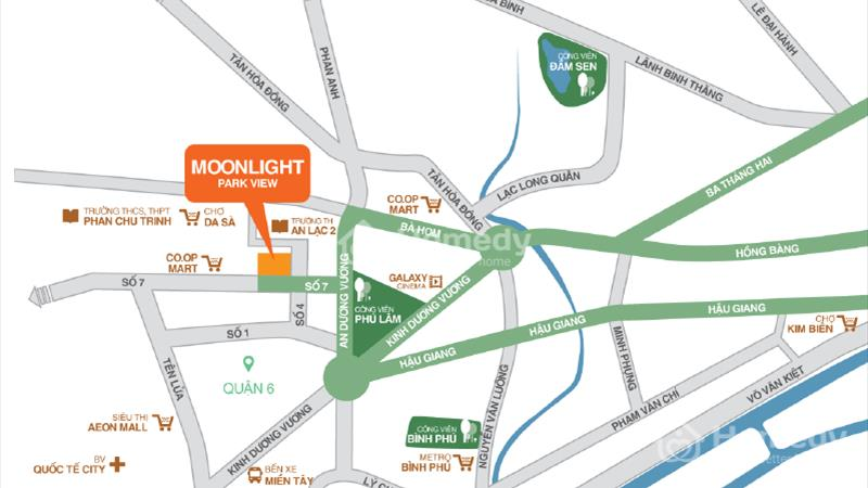 Chỉ 1,1tỷ/căn, căn hộ Moonlight Park View MT khu Tên Lửa, liền kề Aeon Mall - BX Miền Tây - 2