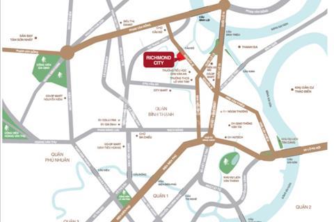 Căn hộ Richmond City  trung tâm Nguyễn Xí - giá tốt - chiết khấu cao