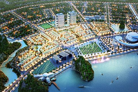 Nhà liền kề, nhà ở thương mại tại khu đô thị cao cấp HD Monbay đường Trần Quốc Nghiễn, TP Hạ Long