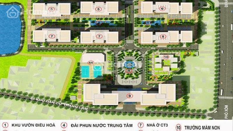 Bán 100 Căn Tòa V6, dự án nhà ở Xã Hội  - hỗ trợ lãi suất 5%/năm trong 15 năm - 6