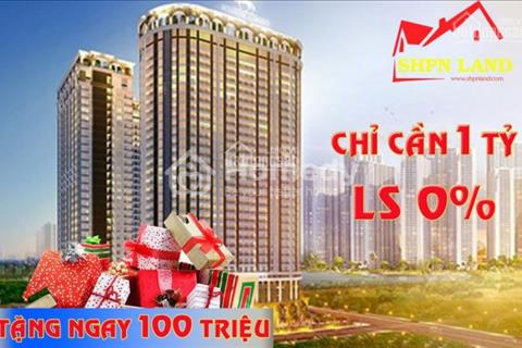 Cơ hội sở hữu căn hộ 2PN, chỉ 2,3 tỷ, full nội thất, view Vườn Đào, Sông Hồng, cầu Nhật Tân