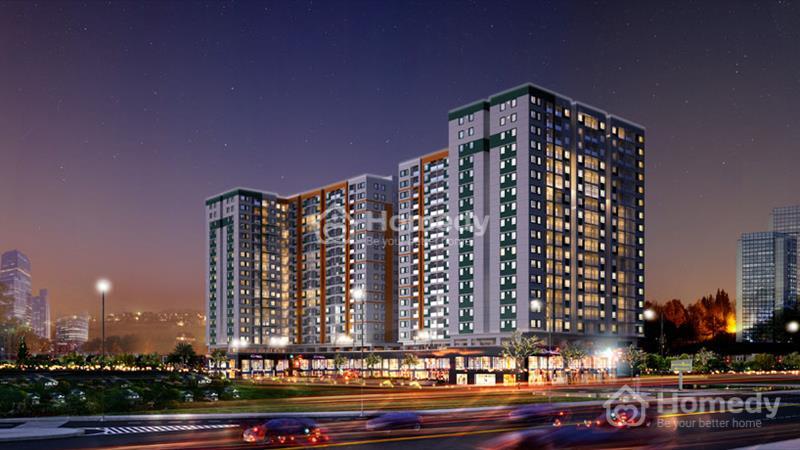 Mặt bằng kinh doanh tại tầng trệt căn hộ Melody Residences, mặt tiền 16 Âu Cơ, 3 tỷ/căn 117 m2 - 3