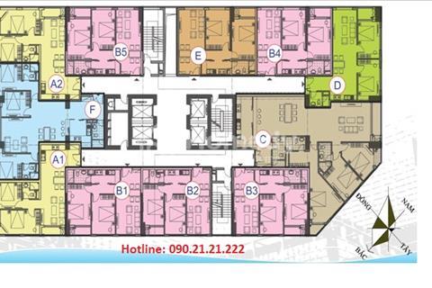 Bán chung cư CT12 Văn Phú giá từ 10,6 triệu/ m2, Hà Đông, có 600 triệu nhận nhà ở ngay