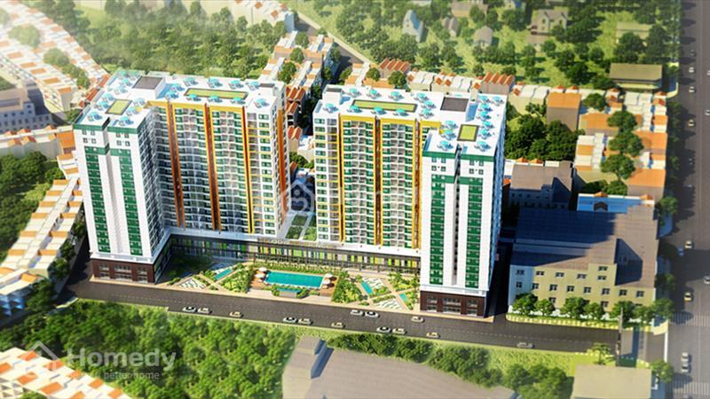 Mặt bằng kinh doanh tại tầng trệt căn hộ Melody Residences, mặt tiền 16 Âu Cơ, 3 tỷ/căn 117 m2 - 5
