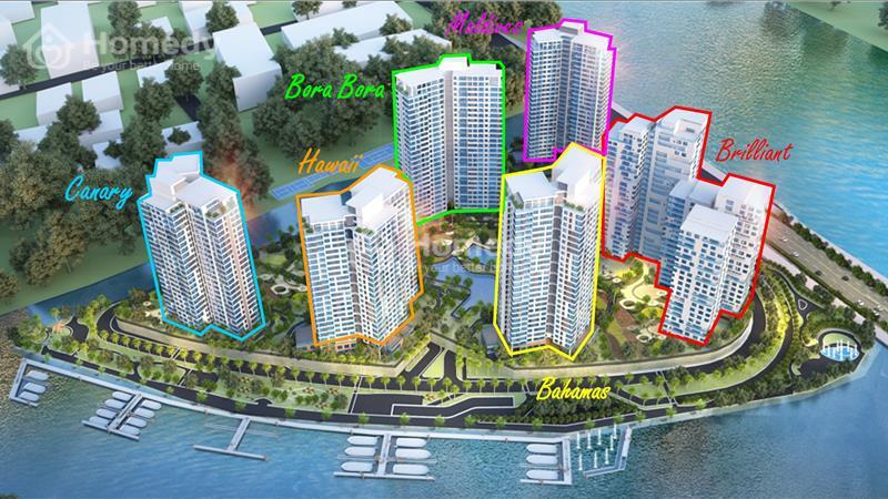 Nhận giữ chỗ có hoàn lại tòa tháp không giới hạn tầm nhìn Bahamas tại Đảo Kim Cương, chiết khấu 14% - 5