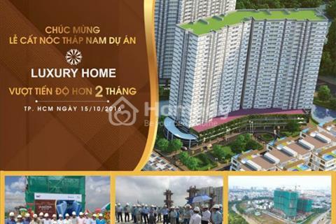 Luxury Home -Gần cầu Phú Mỹ Q.7 - 1,56 tỷ/căn/70m2 - Suất nội bộ - TT 35% nhận nhà - Tặng nội thất