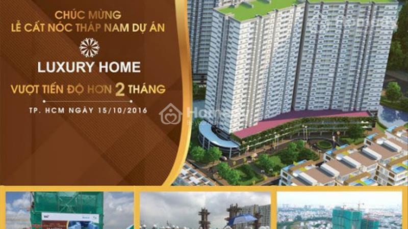 Luxury Home -Gần cầu Phú Mỹ Q.7 - 1,56 tỷ/căn/70m2 - Suất nội bộ - TT 35% nhận nhà - Tặng nội thất - 1