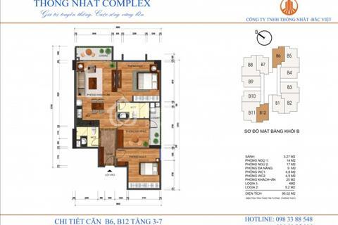 Mở bán chung cư Thống Nhất Complex - Địa chỉ: 82 Nguyễn Tuân - Thanh Xuân - Hà Nội