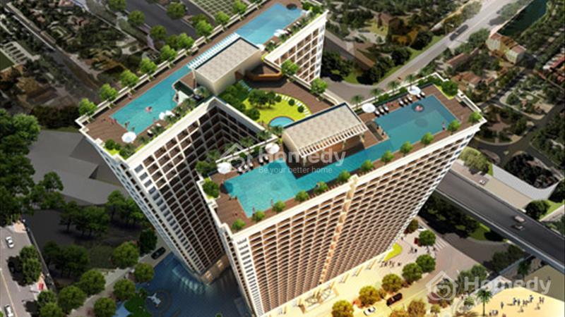 Suất ngoại giao duy nhất tòa A View trọn vẹn biển Đà Nẵng tại Condotel Hòa Bình Green - 4
