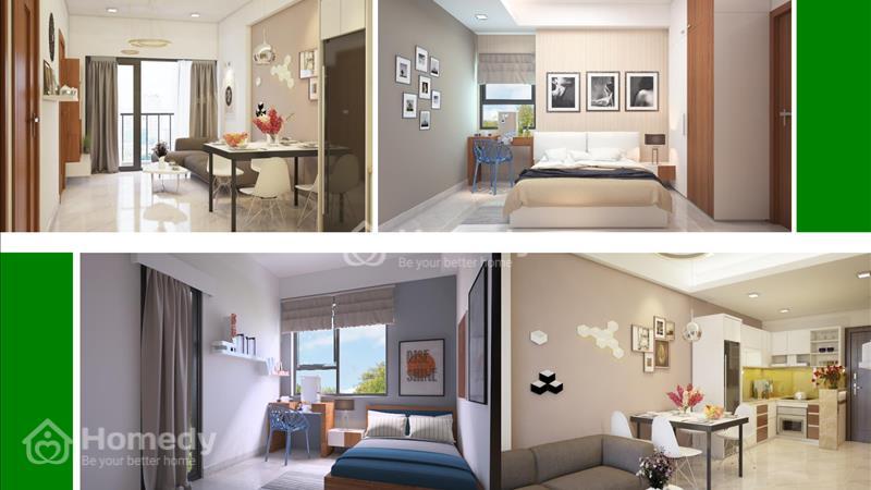 Tôi cần chuyển nhượng lại căn hộ ThủThiêm Garden - Tầng 10 - View sông - Giá 1,25 tỷ - 60 m2 - 3