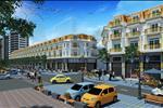 Khu shophouse được thiết kế đồng bộ về hạ tầng cũng như hệ thống giao thông nội khu thuận tiện.