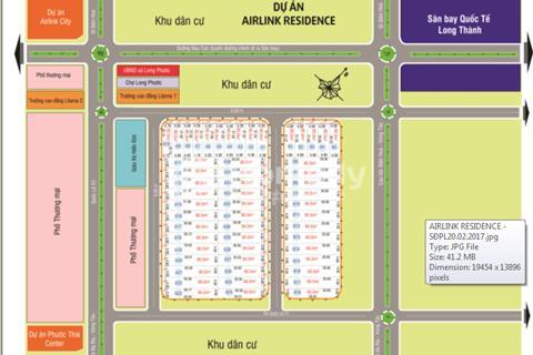 Đất Đồng Nai Airlink Residence, ngay trung tâm phước Thái Long Thành chỉ 248 triệu/80m2